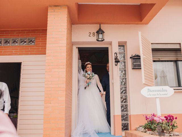 La boda de Ismael y Almudena en Jerez De Los Caballeros, Badajoz 42