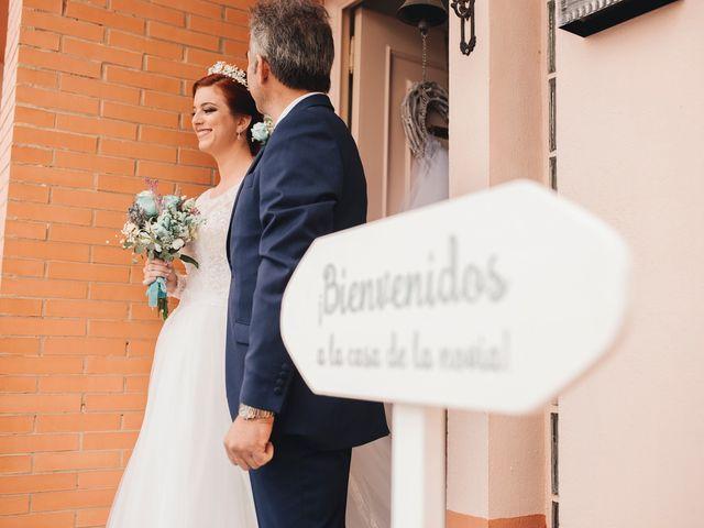 La boda de Ismael y Almudena en Jerez De Los Caballeros, Badajoz 45