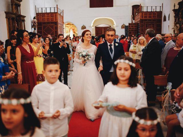 La boda de Ismael y Almudena en Jerez De Los Caballeros, Badajoz 57