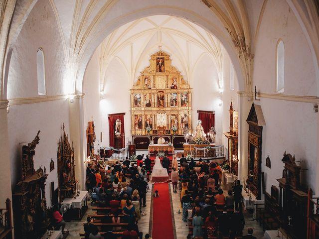 La boda de Ismael y Almudena en Jerez De Los Caballeros, Badajoz 62