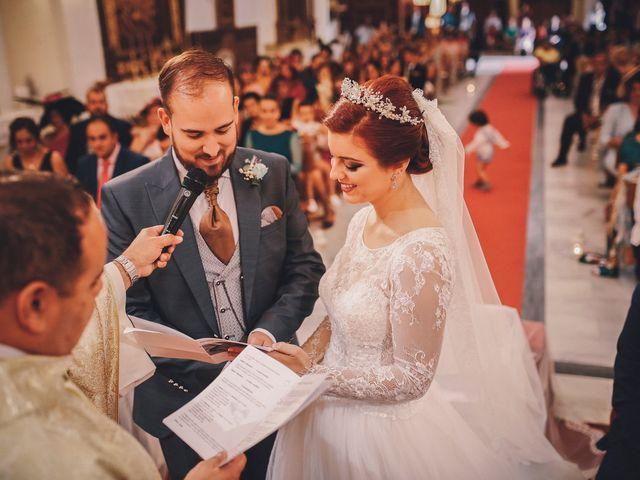 La boda de Ismael y Almudena en Jerez De Los Caballeros, Badajoz 66