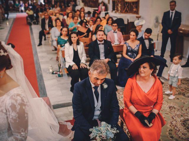 La boda de Ismael y Almudena en Jerez De Los Caballeros, Badajoz 67