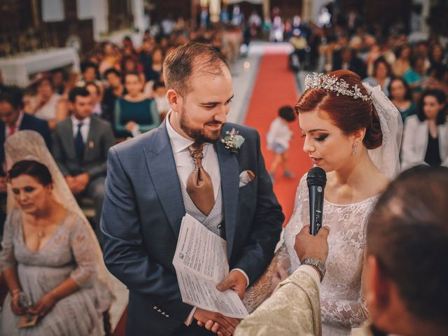 La boda de Ismael y Almudena en Jerez De Los Caballeros, Badajoz 69