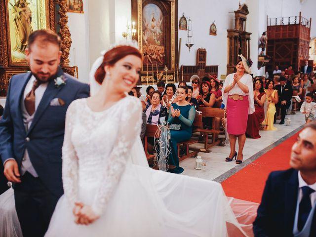 La boda de Ismael y Almudena en Jerez De Los Caballeros, Badajoz 1