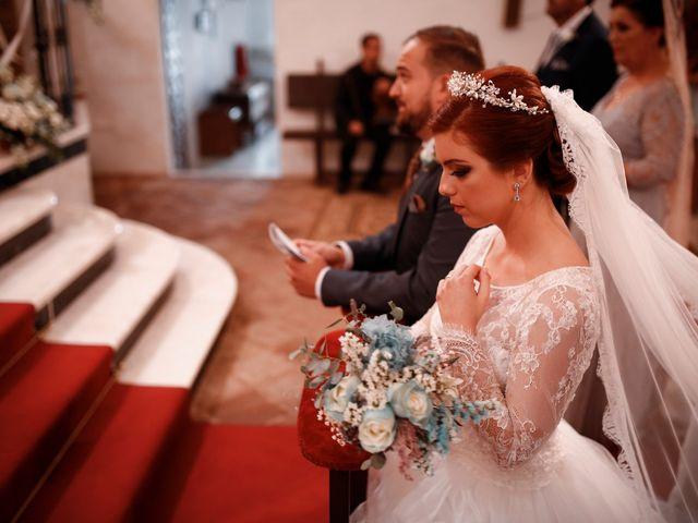 La boda de Ismael y Almudena en Jerez De Los Caballeros, Badajoz 76