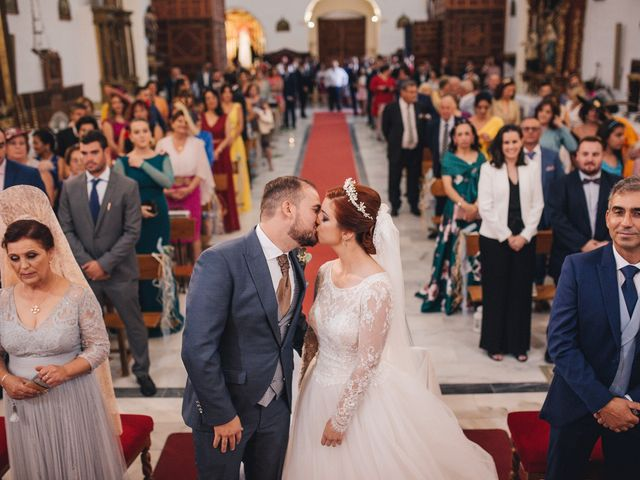 La boda de Ismael y Almudena en Jerez De Los Caballeros, Badajoz 78