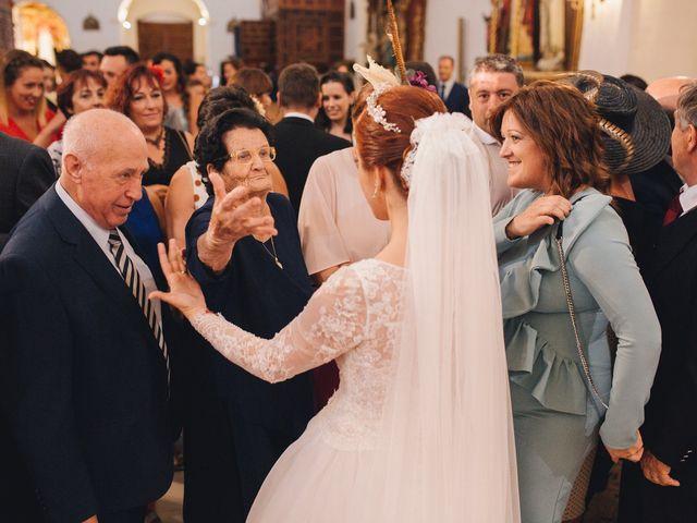 La boda de Ismael y Almudena en Jerez De Los Caballeros, Badajoz 80