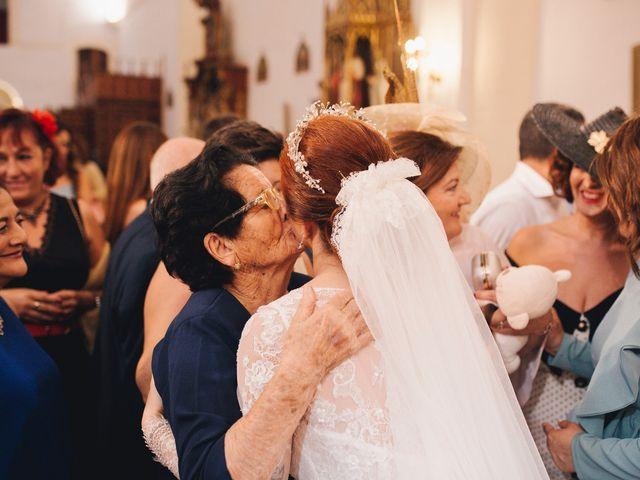 La boda de Ismael y Almudena en Jerez De Los Caballeros, Badajoz 81