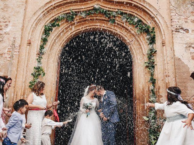 La boda de Ismael y Almudena en Jerez De Los Caballeros, Badajoz 2