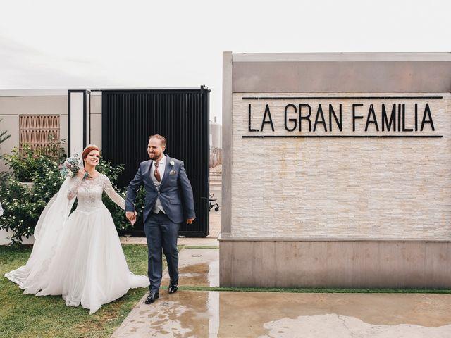 La boda de Ismael y Almudena en Jerez De Los Caballeros, Badajoz 89