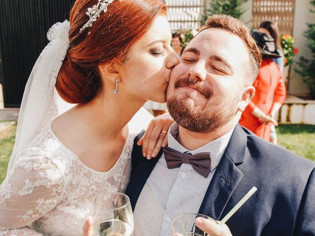 La boda de Ismael y Almudena en Jerez De Los Caballeros, Badajoz 94