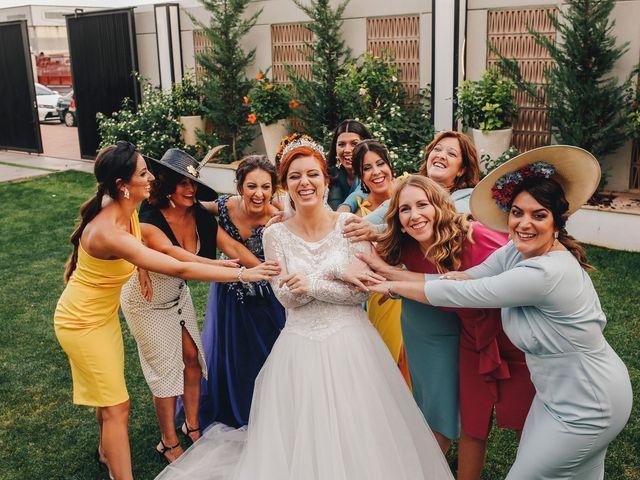 La boda de Ismael y Almudena en Jerez De Los Caballeros, Badajoz 96