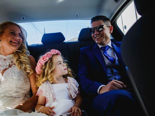 La boda de Alfredo y Ana Mari en Los Barrios, Cádiz 11