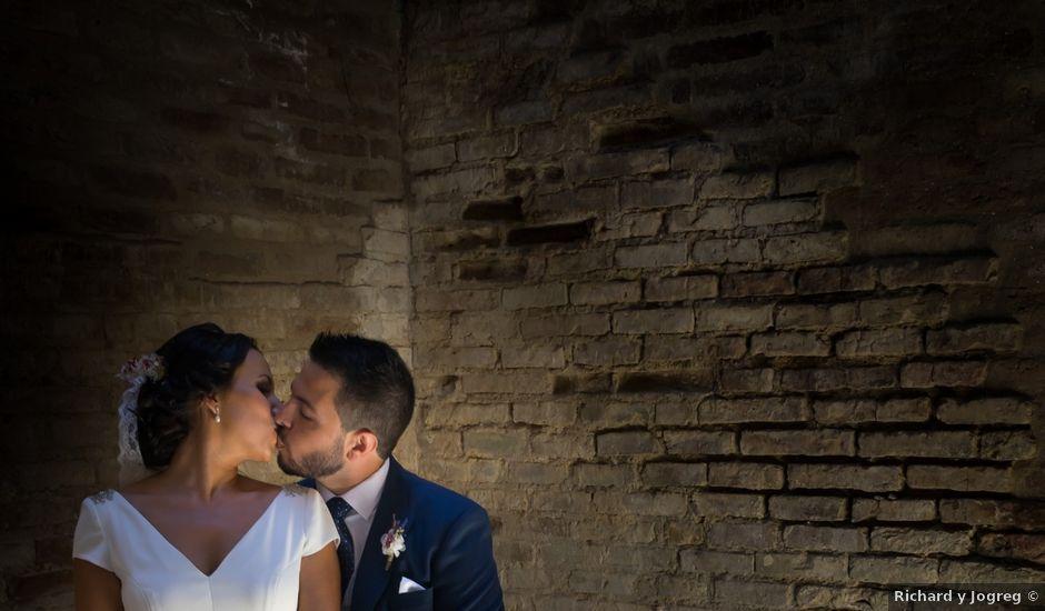 La boda de Carlos y Elena en Gerena, Sevilla