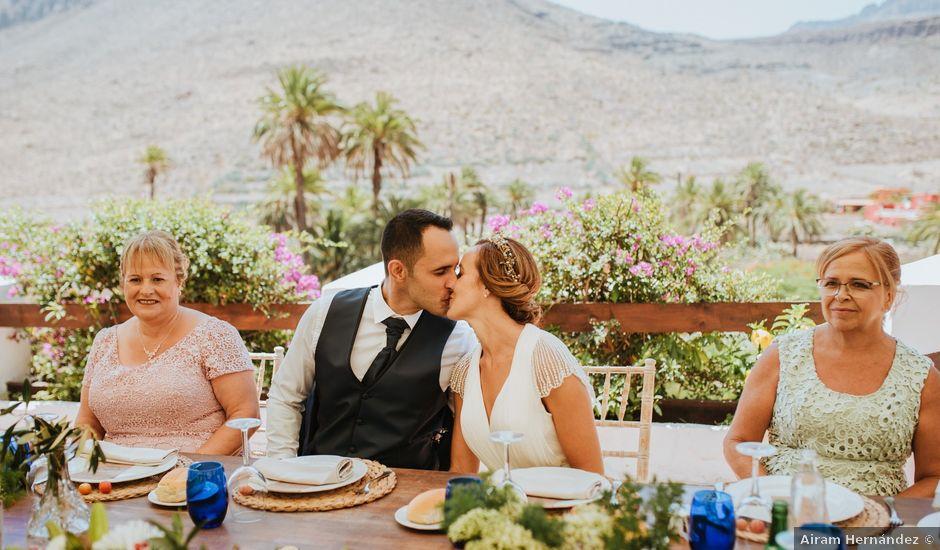 La boda de Yonay y Elizabeth en Aguimes, Las Palmas