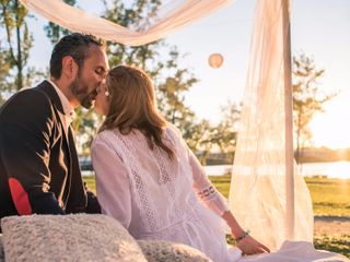 La boda de Cari y Rubén