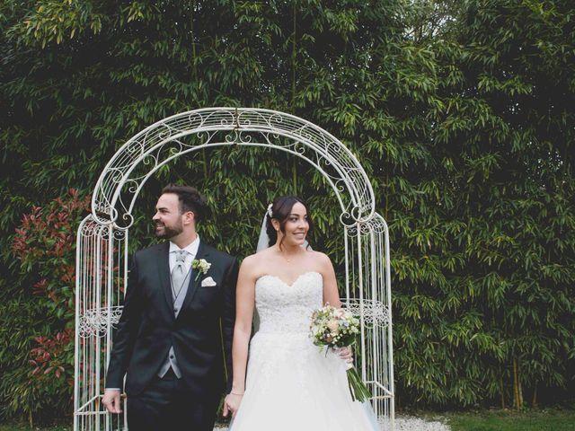 La boda de Nadine y Rubén