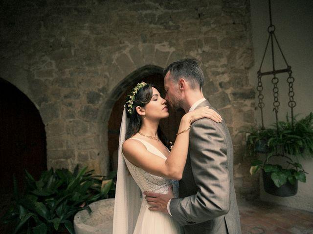 La boda de Peter y Dèlia en Sant Marti De Tous, Barcelona 1