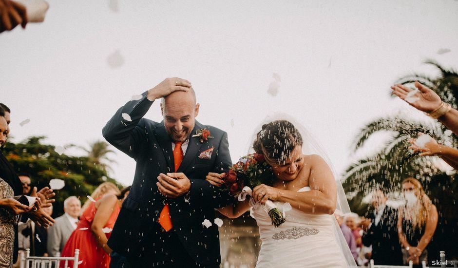 La boda de Oliver y Ilenia en Tres Palmas, Las Palmas