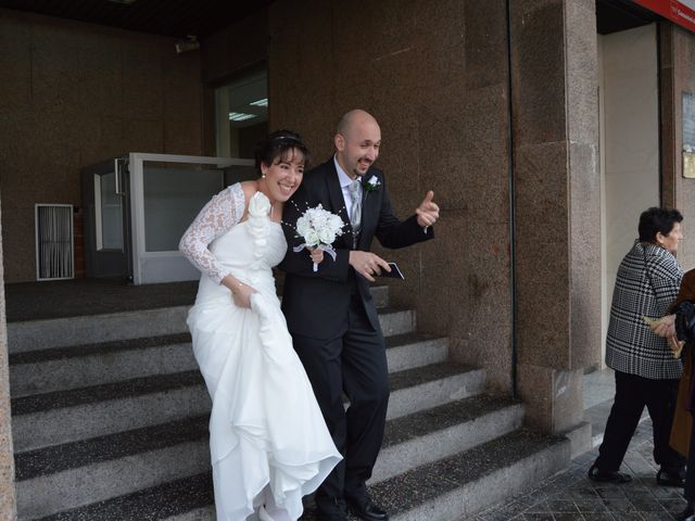 La boda de sandra y luisma en Madrid, Madrid 1