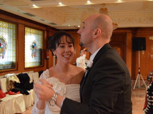 La boda de sandra y luisma en Madrid, Madrid 3