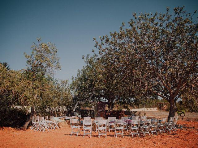 La boda de Grafi y Rocío en Cala De San Vicente Ibiza, Islas Baleares 4
