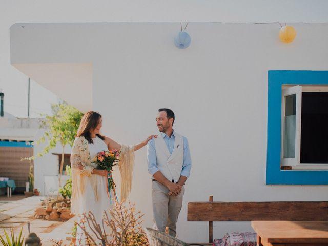 La boda de Grafi y Rocío en Cala De San Vicente Ibiza, Islas Baleares 1