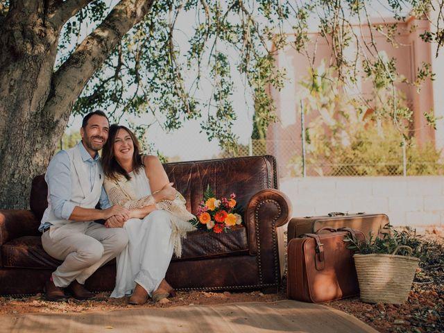 La boda de Grafi y Rocío en Cala De San Vicente Ibiza, Islas Baleares 7