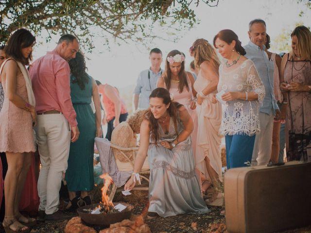 La boda de Grafi y Rocío en Cala De San Vicente Ibiza, Islas Baleares 11
