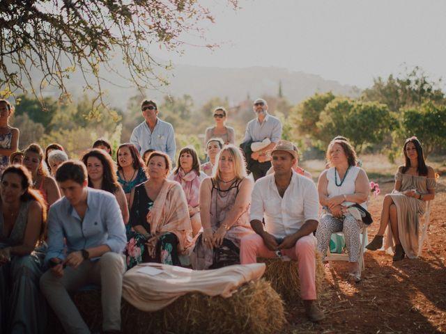 La boda de Grafi y Rocío en Cala De San Vicente Ibiza, Islas Baleares 14