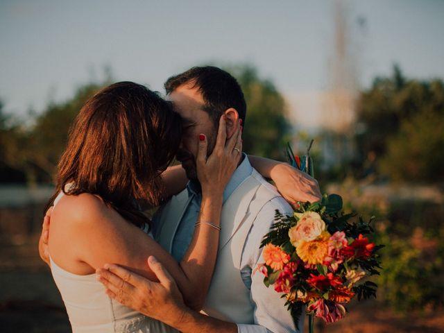 La boda de Grafi y Rocío en Cala De San Vicente Ibiza, Islas Baleares 17