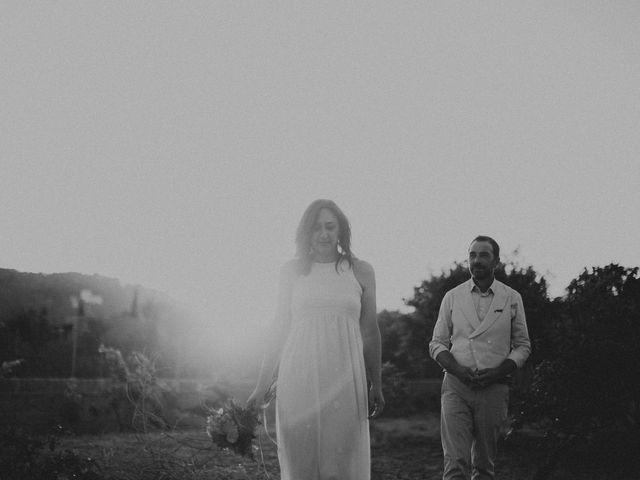 La boda de Grafi y Rocío en Cala De San Vicente Ibiza, Islas Baleares 18
