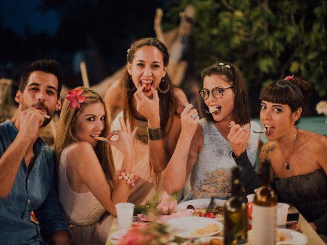 La boda de Grafi y Rocío en Cala De San Vicente Ibiza, Islas Baleares 24