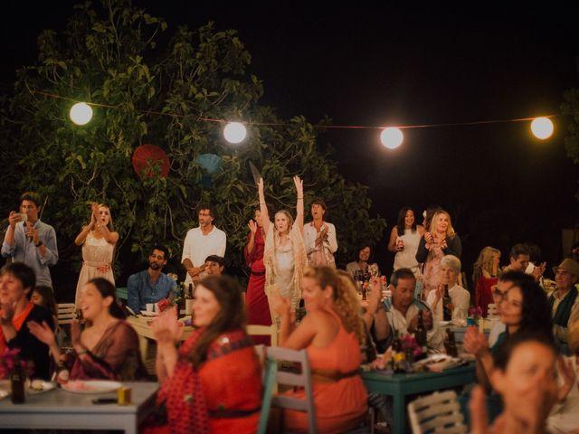 La boda de Grafi y Rocío en Cala De San Vicente Ibiza, Islas Baleares 29