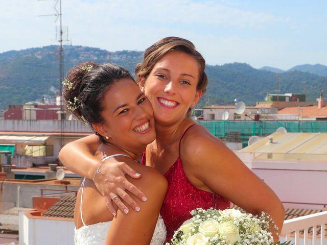 La boda de Angel y Cristina en Sant Vicenç De Montalt, Barcelona 9