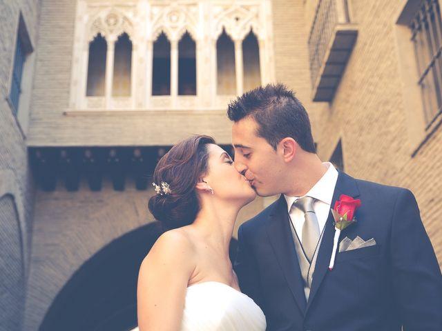 La boda de Victor y Irene en El Burgo De Ebro, Zaragoza 1