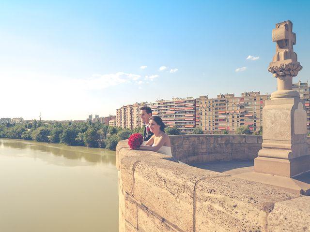 La boda de Victor y Irene en El Burgo De Ebro, Zaragoza 37