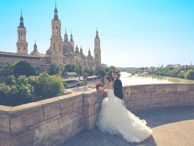 La boda de Victor y Irene en El Burgo De Ebro, Zaragoza 39