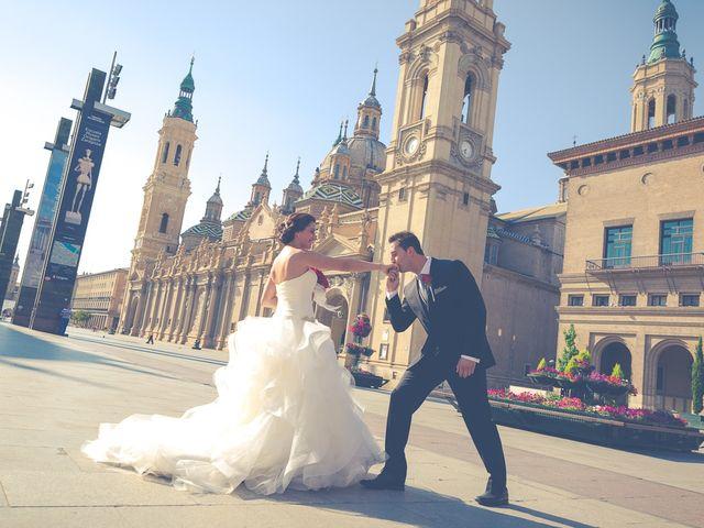 La boda de Victor y Irene en El Burgo De Ebro, Zaragoza 45