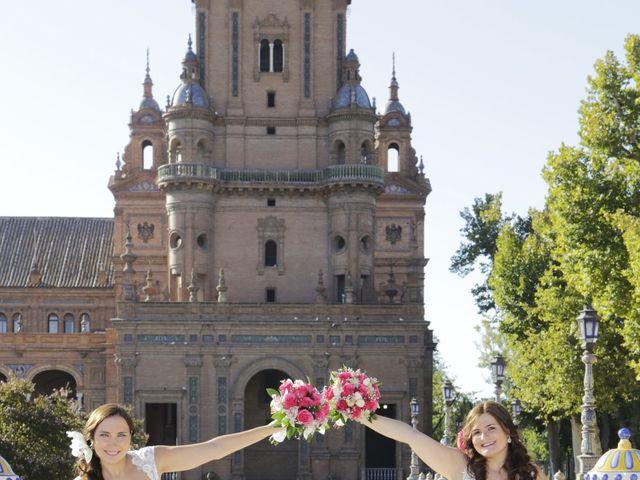 La boda de Jesica y Marina en Alcala Del Rio, Sevilla 18