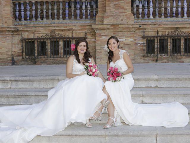 La boda de Marina y Jesica