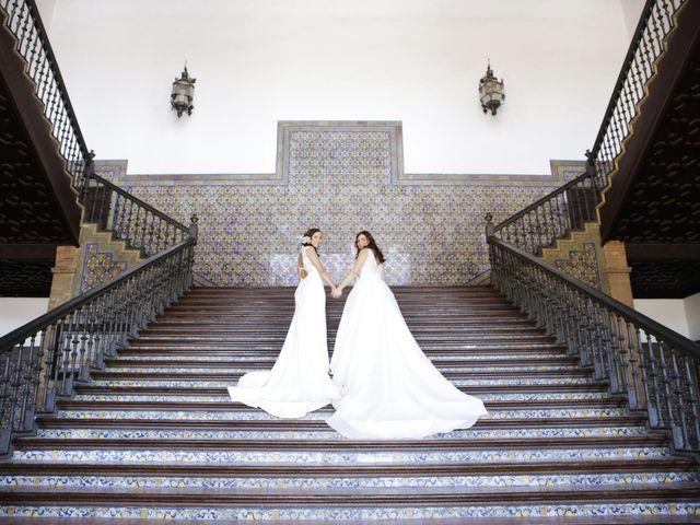 La boda de Jesica y Marina en Alcala Del Rio, Sevilla 24