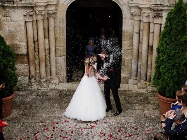 La boda de Marcos y Rocío en Leiro (Capital), Orense 42