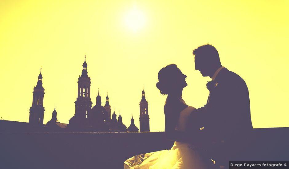 La boda de Victor y Irene en El Burgo De Ebro, Zaragoza