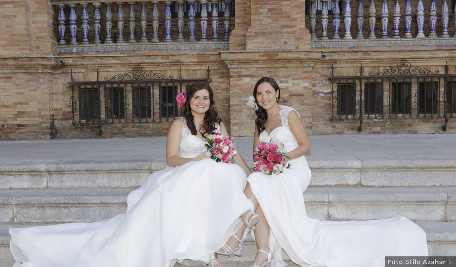 La boda de Jesica y Marina en Alcala Del Rio, Sevilla