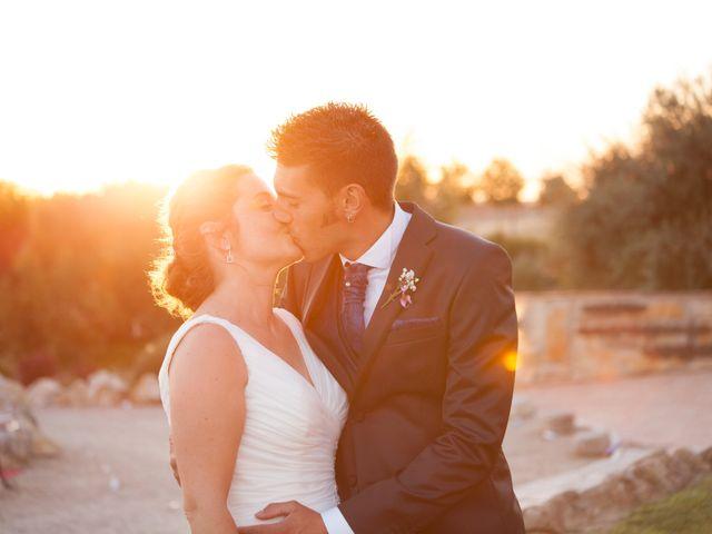 La boda de Rober y Marta en Tiedra, Valladolid 1