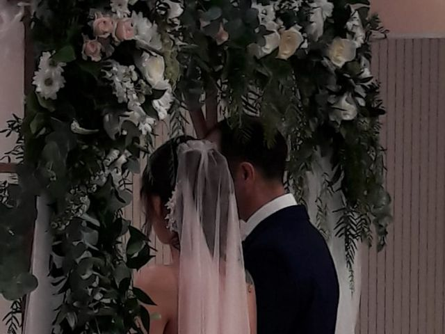 La boda de Chema  y Athenea en San Lorenzo De El Escorial, Madrid 4