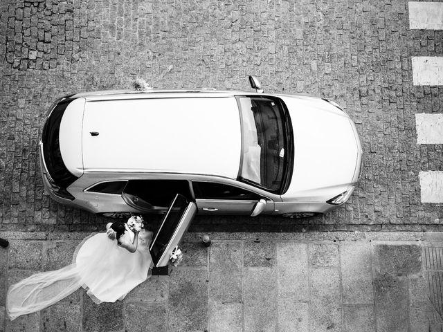 La boda de Chema  y Athenea en San Lorenzo De El Escorial, Madrid 1