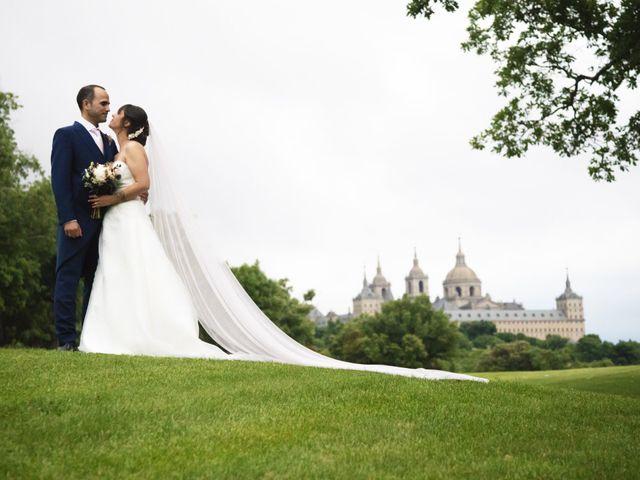 La boda de Chema  y Athenea en San Lorenzo De El Escorial, Madrid 2