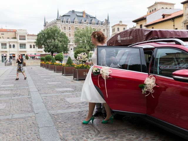 La boda de Thomas y Alba en Cembranos, León 4